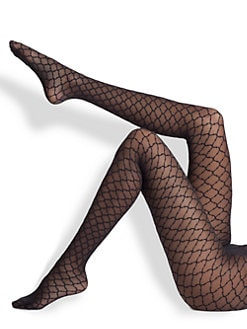 Fogal - Beverly Diamond Pattern Hosiery