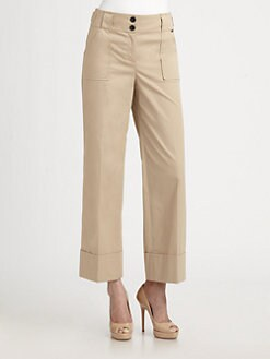 St. John - Cropped Chino Pants