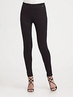 St. John - Stretch Knit Leggings