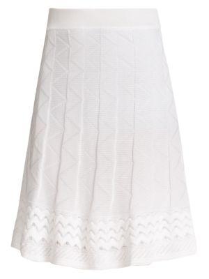 Patterned Knit Skirt plus size,  plus size fashion plus size appare