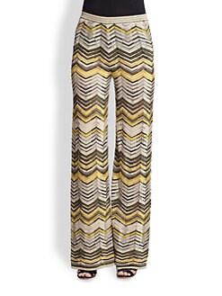 M Missoni - Knit Zigzag Pants