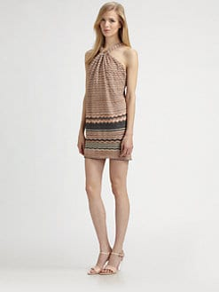 M Missoni - Zigzag Halter Dress