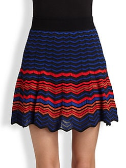 M Missoni - Zigzag Colorblock Skirt