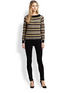 M Missoni - Zigzag Boatneck Sweater