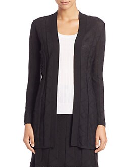 M Missoni - Solid Zigzag Cardigan