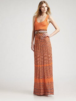 M Missoni - Zigzag Maxi Dress