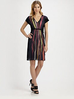 M Missoni - Wave-Stripe Dress