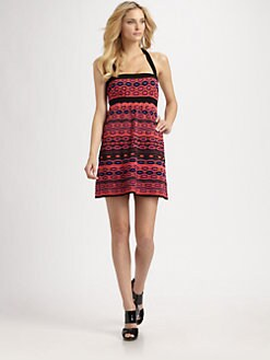 M Missoni - Geometric-Knit Dress
