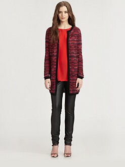 M Missoni - Wavy Striped Cardigan