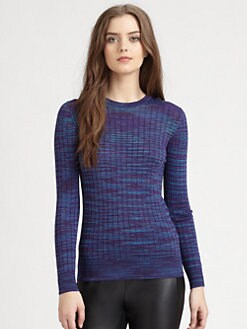 M Missoni - Space-Dyed Ribbed Top