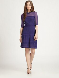 M Missoni - Textured Knit Dress