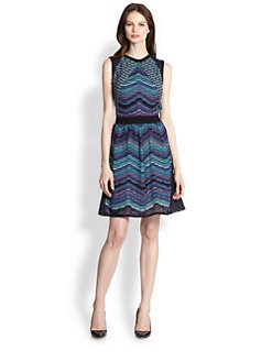 M Missoni - Multi-Textured Knit Dress
