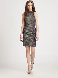 M Missoni - Space-Dyed Fitted Knit Dress