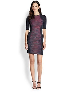 M Missoni - Patchwork Neoprene Dress