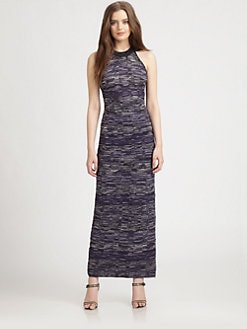 M Missoni - Multi-Pattern Knit Maxi Dress