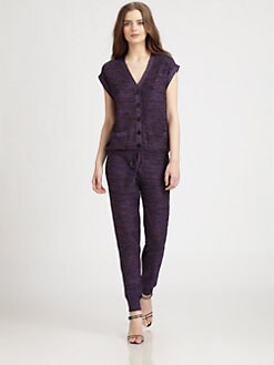 M Missoni - Space-Dyed Knit Jumpsuit