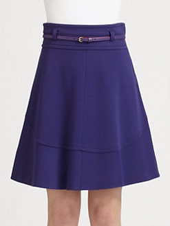 M Missoni - Double-Knit Belted Skirt