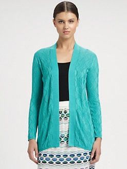 M Missoni - Wave Knit Cardigan
