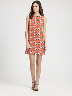 M Missoni - Silk Seashell Print Dress