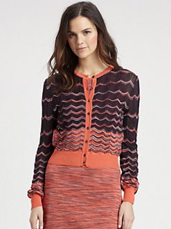 M Missoni - Signature Knit Cardigan