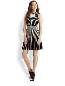 M Missoni - Cross-Front Flared Dress