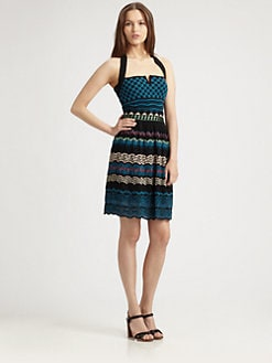 M Missoni - Patchwork Halter Dress