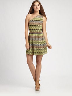 M Missoni - One-Shoulder Knit Dress