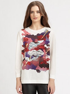 M Missoni - Cloud Print Tee