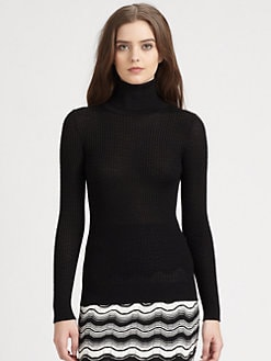 M Missoni - Ribbed Turtleneck Sweater