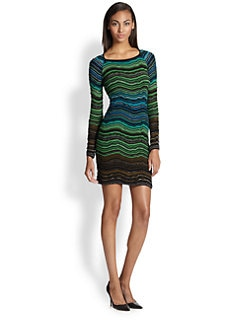 M Missoni - Fancy Ripple-Knit Dress