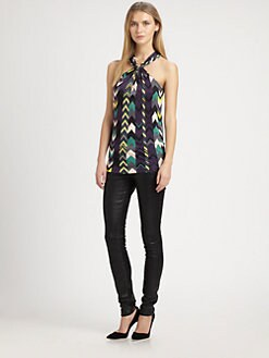 M Missoni - Zigzag Halter Top