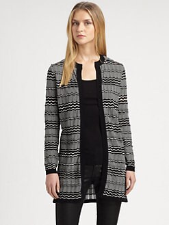 M Missoni - Zigzag Long Cardigan