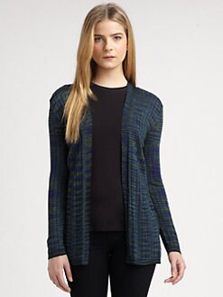 M Missoni - Ribbed Space-Dye Cardigan