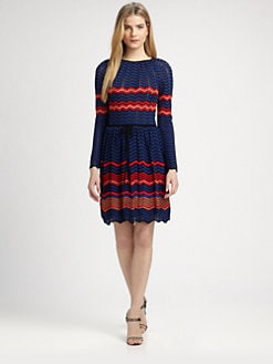 M Missoni - Zigzag Colorblock Dress