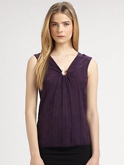 M Missoni - Horseshoe Knit Tank Top