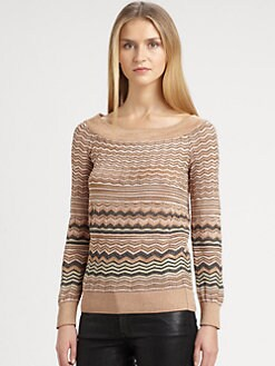 M Missoni - Zigzag Sweater