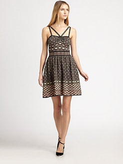 M Missoni - Sleeveless Honeycomb Dress