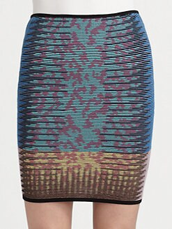 M Missoni - Space-Dyed Skirt
