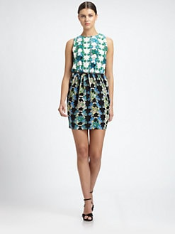 M Missoni - Silk Hawaiian-Print Dress