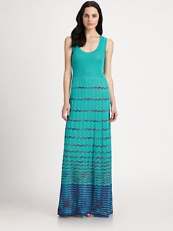 M Missoni - Tank-Style Maxi Dress