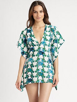 M Missoni - Silk Swim Cover-Up Tunic