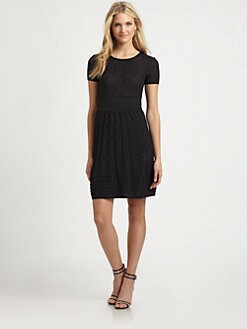 M Missoni - Knit Crewneck Dress