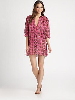M Missoni - Cotton Hibiscus-Print Tunic