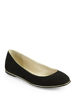 Kors Michael Kors - Odell Suede Ballet Flats