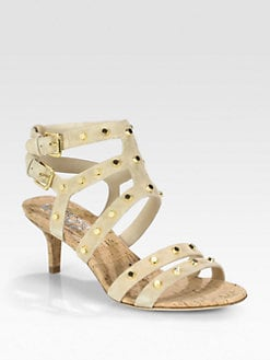 Kors Michael Kors - Shay Studded Suede Sandals