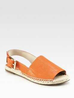 Kors Michael Kors - Blythe Leather Espadrille Sandals