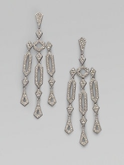 Adriana Orsini - Geometric Chandelier Earrings