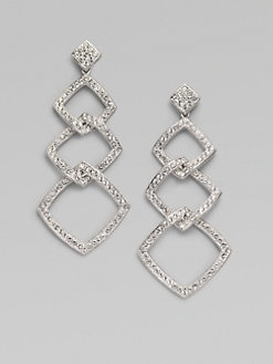 Adriana Orsini - Pavé Link Drop Earrings