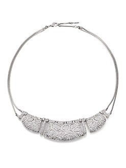 Adriana Orsini - Pave Crystal Necklace