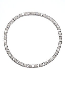 Adriana Orsini - Pav&eacute; Collar Necklace